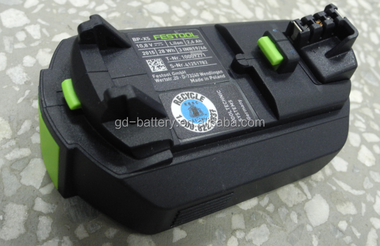 10.8v 2.6ah power tool battery for BP-XS, 500184,CXS,TXS