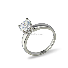 925 sterling silver engagement ring, AAA CZ wedding ring