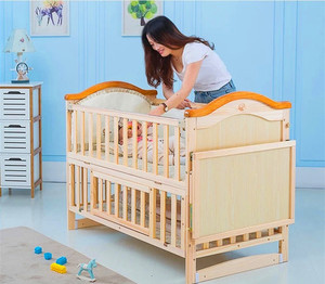 2018 Bestsellers adult size baby nursery cradle bed wooden/infant carry crib cot prices