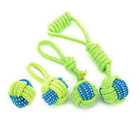Dog Rope Chew Tug Toy Pet Cotton Rope Toy Set