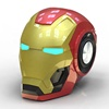 Portable outdoor USB charging mini wireless iron man profile car speaker