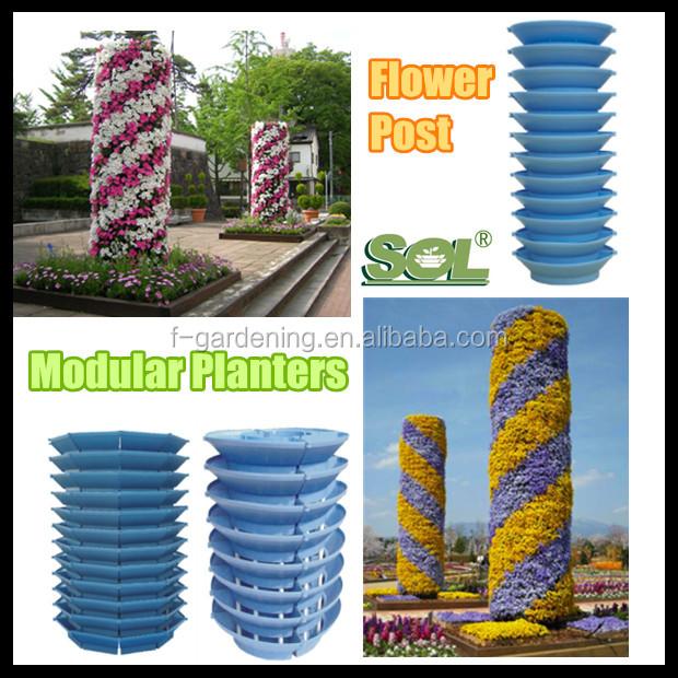 Auto riego ollas jard n vertical productos torre vertical for Sistema riego jardin vertical