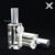 hot sale 50ml square clear perfume lotion glass pump sprayer bottle