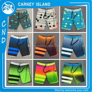 design your own logo stock hurley style blank wholesale custom mens board shorts