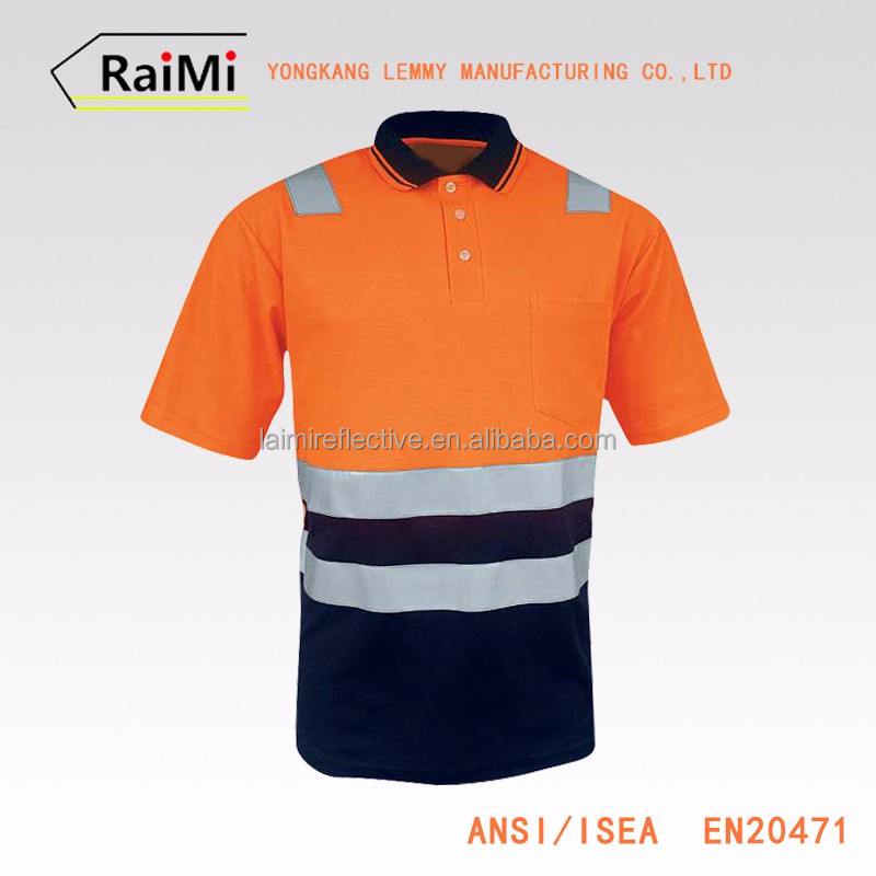 High Quaility safety reflective polo shirt supplier philippines