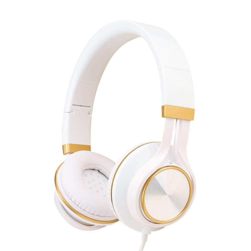 Cell phone headset Head-arch headphones Music single earphone Big ear headphones-D