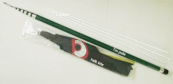 High quality professional pole hawk kite bird scarer for sale