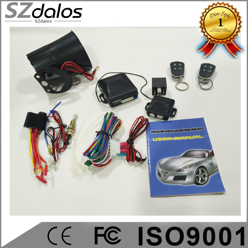 2019 control long distance one way car alarm with automatic re-arm DLS-L3000