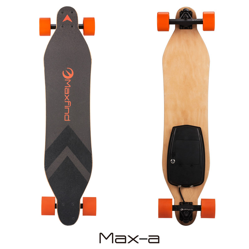 Maxfind hot sell cruiser skateboards powered skateboard with long deck skateboard
