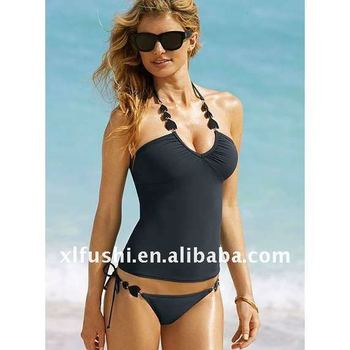 238a1e85ee808 Hot Halter Ladies Tankini Swimsuits, View Ladies Tankini Swimsuits ...