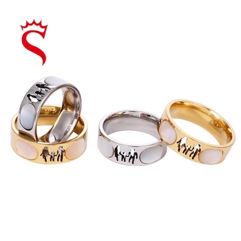 stainless steel jewelry rings jewelry women Wedding Ring