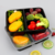 Wholesale Plastic 3-Compartment Bento Lunch Box Food Containers Leakproof