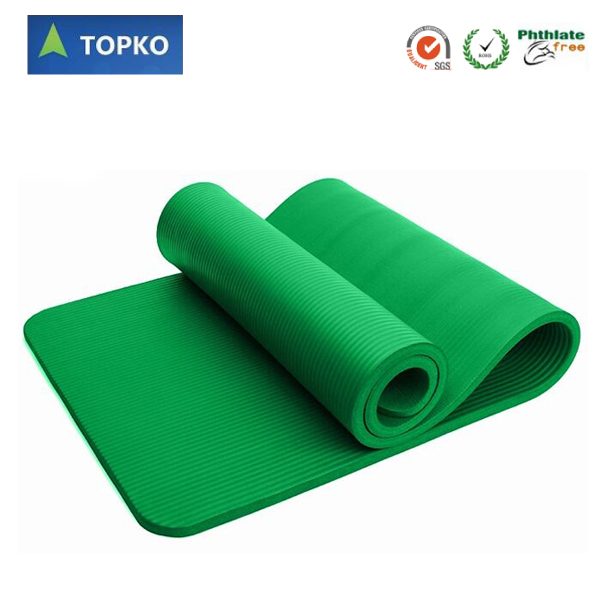 TOPKO 1/2 Inch extra thick High Density Anti Tear NBR Exercise Yoga Mat