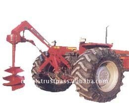 Massey Ferguson Tractors Agriculture Implements Post Hole Digger