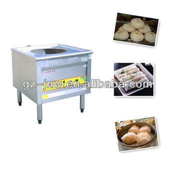 Chinese Restaurant Kitchen Equipment dzy500 gas dim sum steamer machine for chinese restaurant kitchen