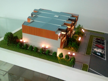 3d models house for miniature house developer luxury villa model making - 3d Model Home