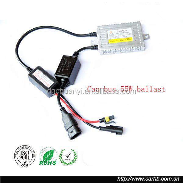 H4 Bi-Xenon HID conversion kit for modern cars and motorbikes with Can-Bus