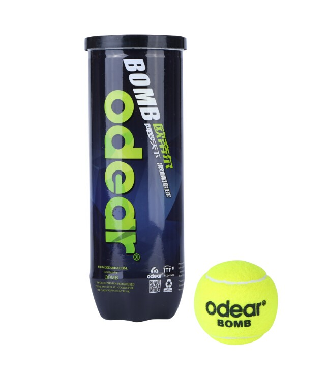 tennis ball plastic can / tennis ball manufacturers / ITF approved tournament match