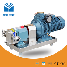D-3A Meir Heng sanitary stainless steel rotary lobe pump