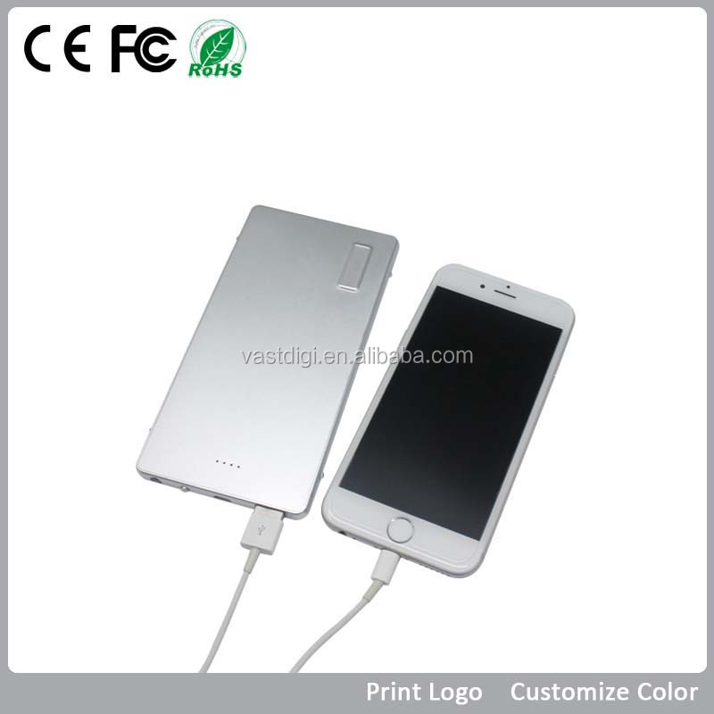 VPB-J027 Best quality Stylish power bank 5500mah or 6000mah, portable super fast mobile phone charger