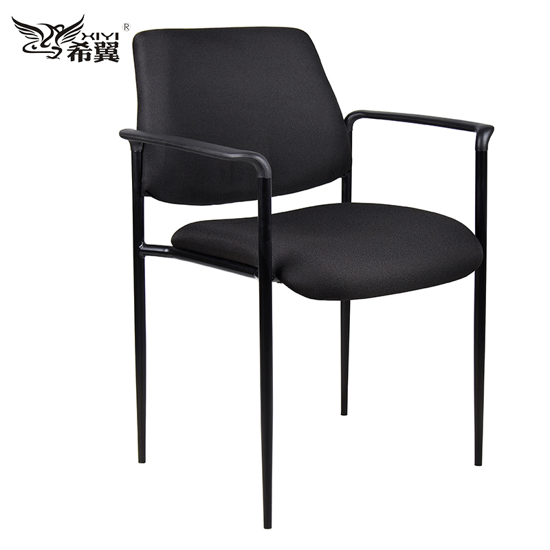 Guest fabric conference visitors chair stackable for offices waiting area