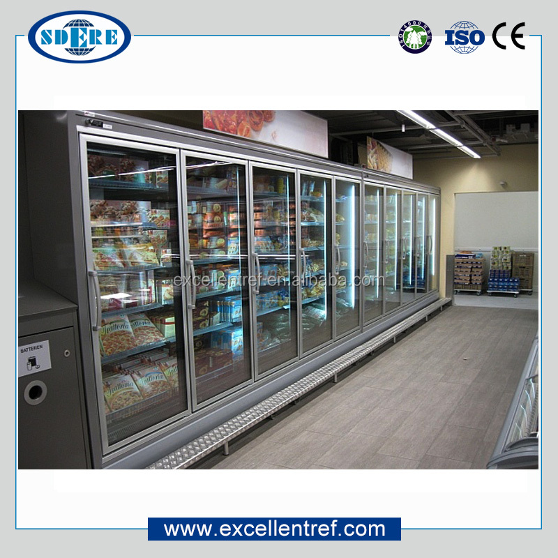 Hot sell italian brands ice cream display freezer refrigerator/ice cube freezer