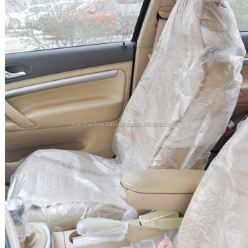 Plastic Seat Covers >> Private Logo Of Car Seat Cover Disposable Plastic Car Seat Cover