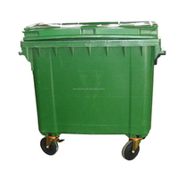 Top Sale 660L high quality big sheet garbage can, garbage container,waste bins