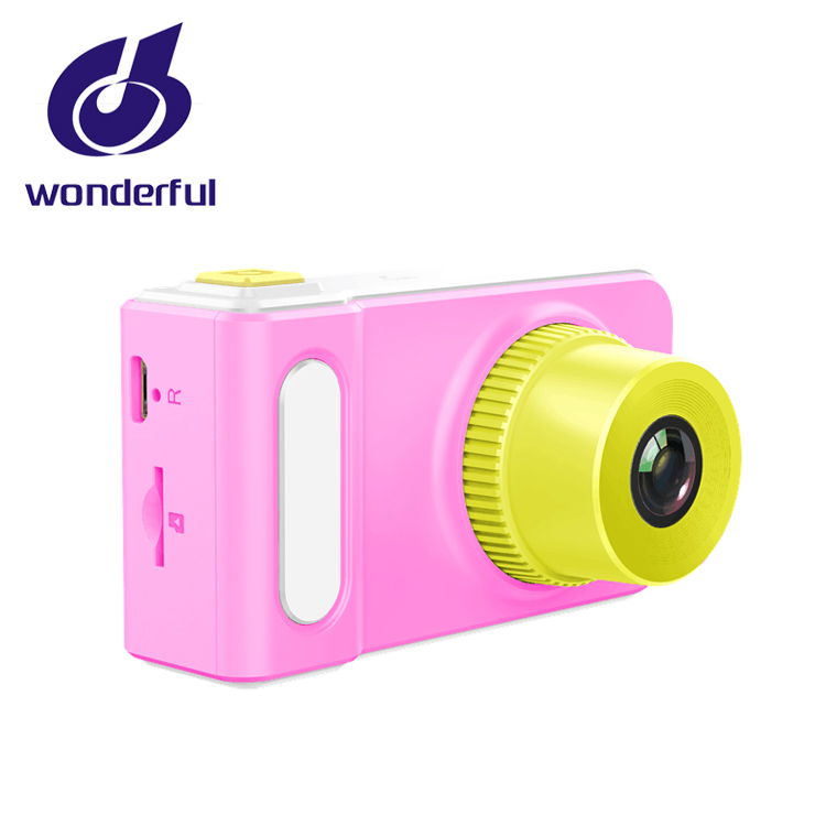 Multi-language Ergonomic Design Kids Children Creative Digital Camera 5MP TFT 1.77inch Display <strong>Video</strong>