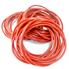 FDA Silicone Red color rubber molding o rings