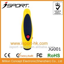 2012 hot selling big electronic coach plastic anti-split whistle
