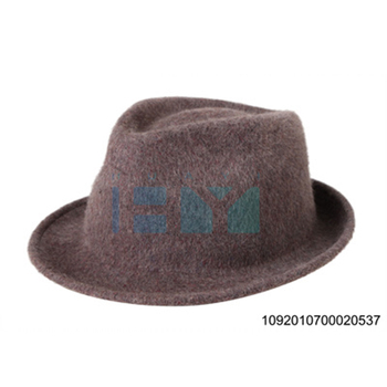 Camel Colour Mens Wool Felt Fedora Hats With Ribbon Band - Buy ... d7b9b4988e1
