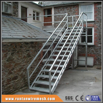 Charmant Prefab Outdoor Galvanized Stairs Staircase Design Made In China