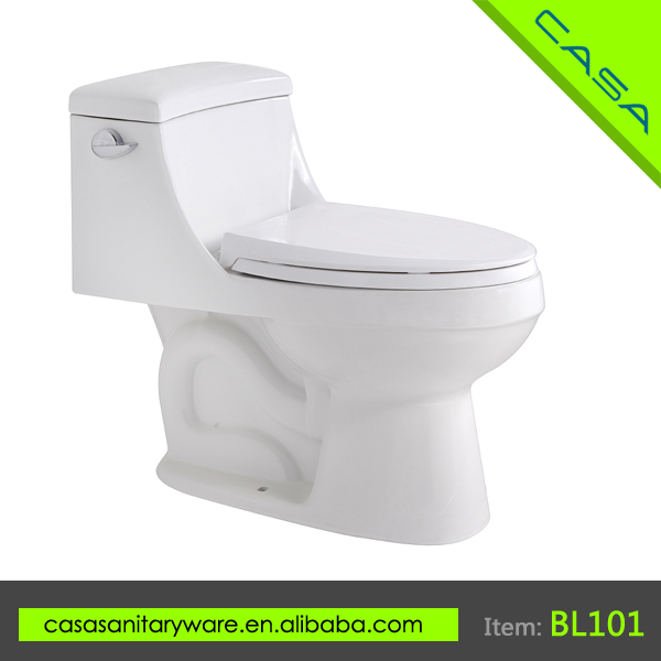 Best Selling ceramic white siphonic CUPC custom colored toilet
