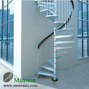 Stainless steel outdoor spiral staircase prices buy - Exterior metal spiral staircase cost ...