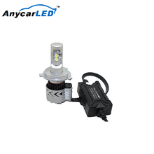 8HL CREE XHP50 H4 chevrolet cruze angel eye projector led headlight