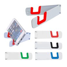 Wholesale OEM favorable price folded 2 functions plastic screen cleaner smartphone phone stand holder