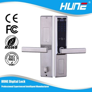 keyless electronic password door lock with anti theft system