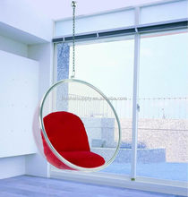 Hanging bubble chair/acrylic hanging egg chair/hanging bubble chairs for best sale