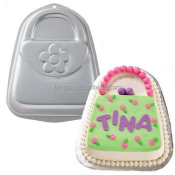 Handbag Purse Cake Tin Baking Pan Tray Aluminum Bakeware