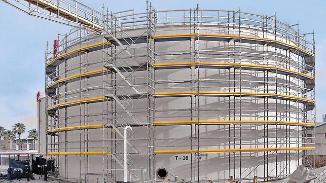 Heißer Dip Verzinktem Kwikstage Metall Gerüste Für Hochhaus Bau