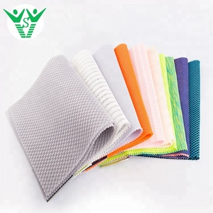 Customized 100 polyester 3d spacer sandwich air mesh fabric for shoes