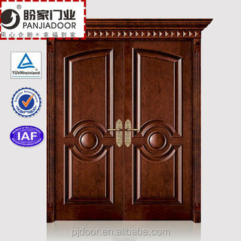 Old Antique Wooden Double Door Design Wpj14 076