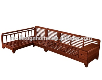 Superbe Sofa Wood Frame, New Model Wooden Sofa Sets, Solid Wood Sofa (C025