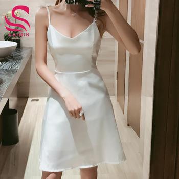 Vestidos de noche mini faldas