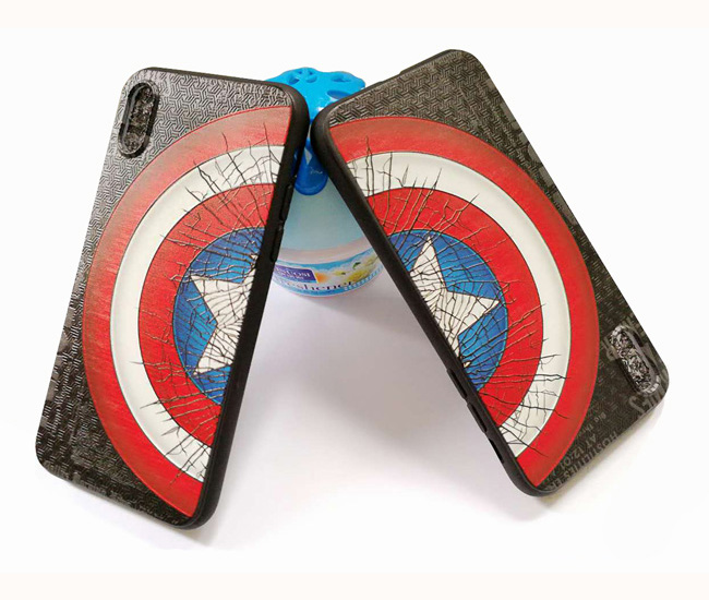 Captain America Batman Cell Phone Case for iphone8 plus iPhone X