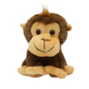 Factory forest animal soft cute toy kids gift dark brown stuffed monkey plush toy