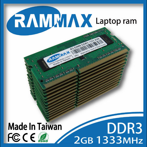 2GB 667mhz ddr3 memoria ram for laptop High Quality Sodimm DDR3
