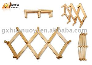 disposable wall towel rack/Wooden towel hanger (Folding&Mobilizable) wooden towel rack / wooden wall hanger