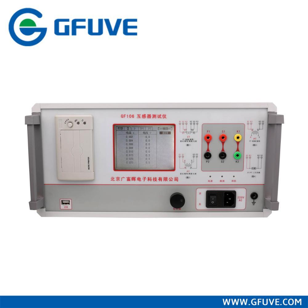Gf106 Ct Calibration Equipment Current Transformer Polarity Test - Buy  Current Transformer Test,Transformer Ct Pt Testing Equipment,Current